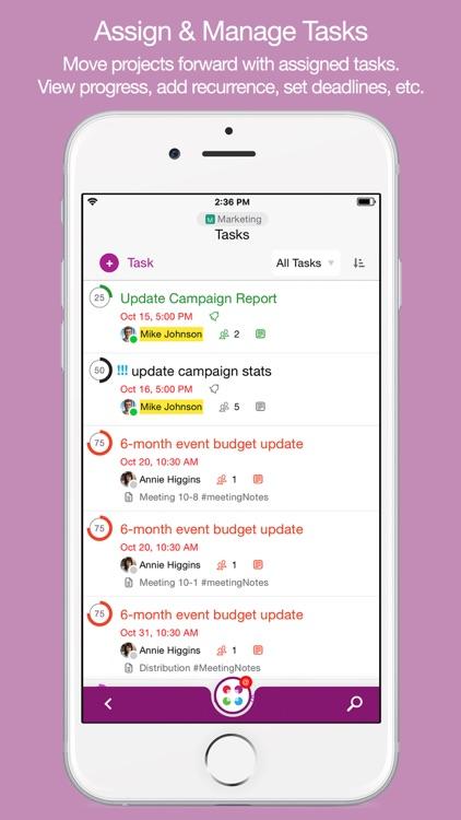 Samepage: Team Collaboration screenshot-3