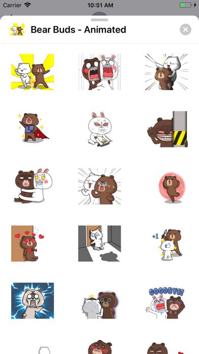 Bear Buds - Animated screenshot 1