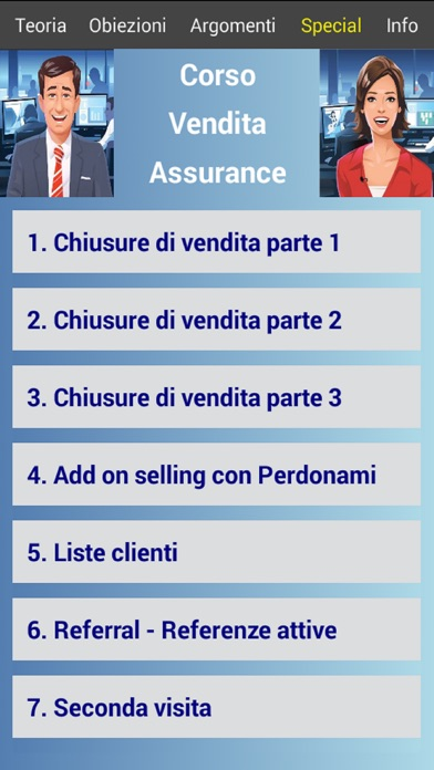 Corso Vendita Assurance Pro app image