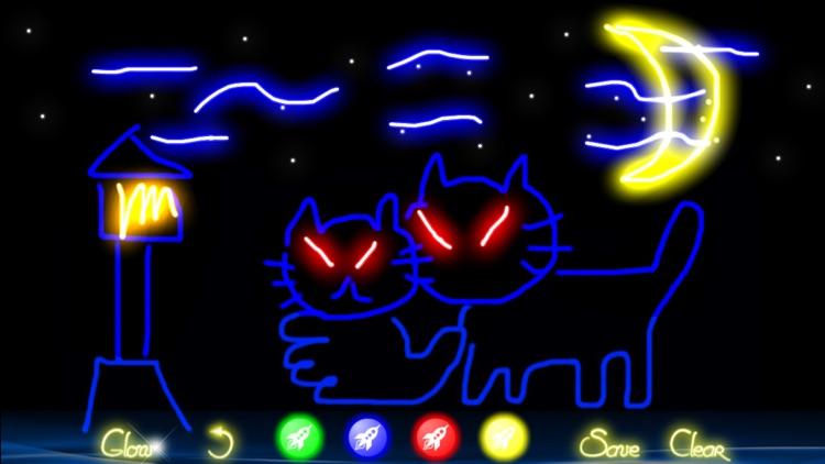 Glow Doodle 2 screenshot-0