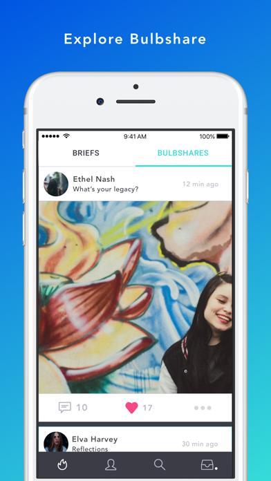 Screenshot #1 pour Bulbshare