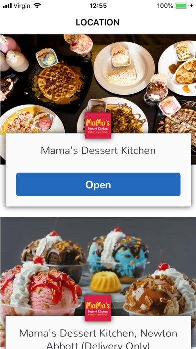 Mama's Dessert Kitchen screenshot 1