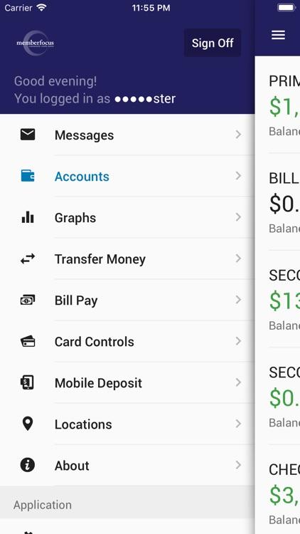 MbrFocusCU Mobile Banking screenshot-3