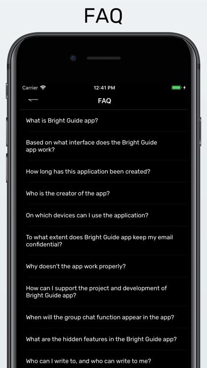 Bright Guide - messenger screenshot-4