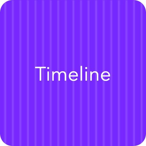 Timeline-Mission plan icon