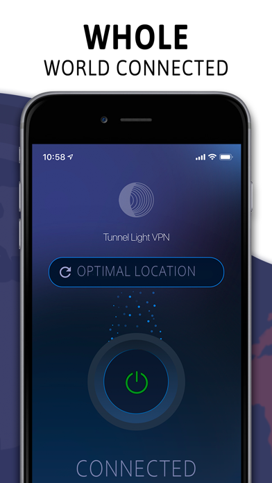 Screenshot for Tunnel Light: Daily 360 VPN in Singapore App Store