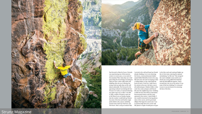 点击获取Strung Outdoor Magazine