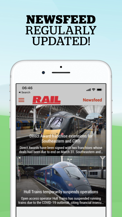 RAIL Magazine screenshot two