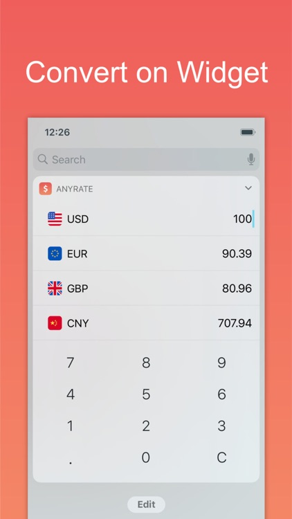 AnyRate - Currency Converter screenshot-3