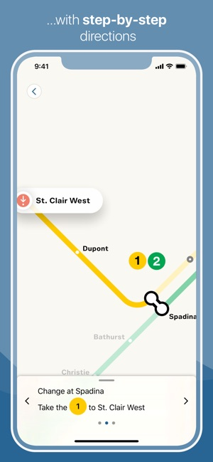 Toronto Subway Map on the App Store
