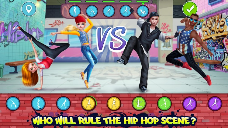 Hip Hop Battle - Girls vs Boys screenshot-0