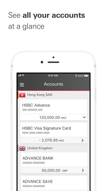 HSBC HK Mobile Banking screenshot-6