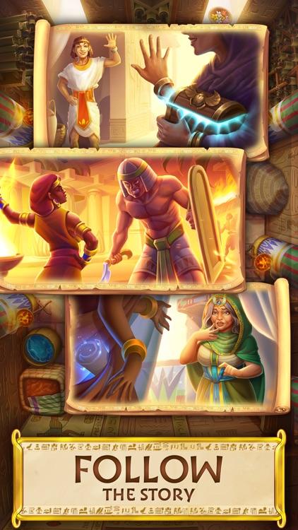 Jewels of Egypt: Match 3 Game screenshot-3