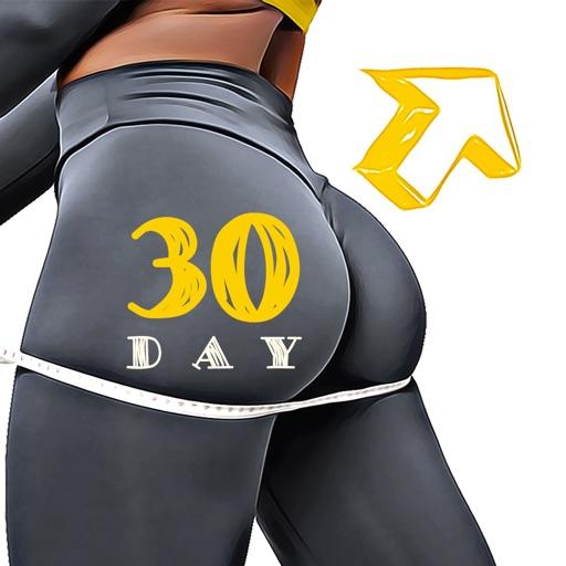 30 дней Тренировка ноги и попа