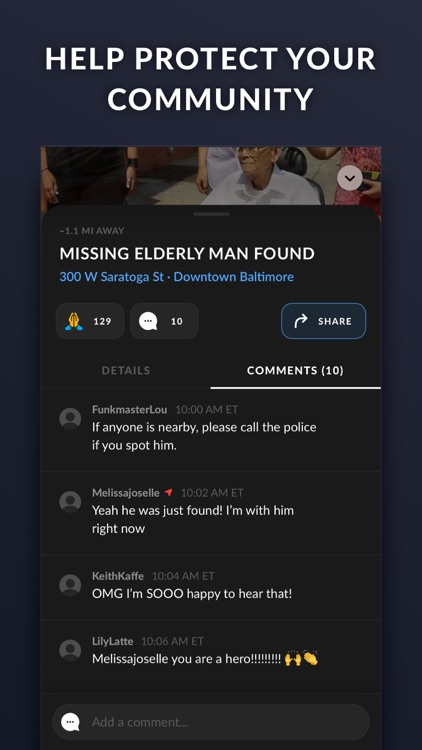 Citizen: Nearby Safety Alerts screenshot-3