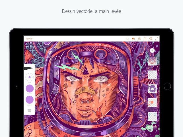 Adobe Illustrator Draw Capture d'écran