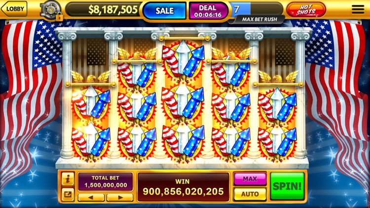 Caesars® Casino: Vegas Slots screenshot-4