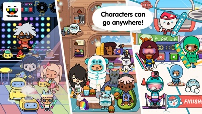 Screenshot for Toca Life: World in South Africa App Store