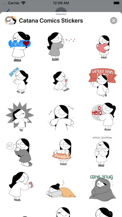 Screenshot #2 pour Catana Comics Stickers