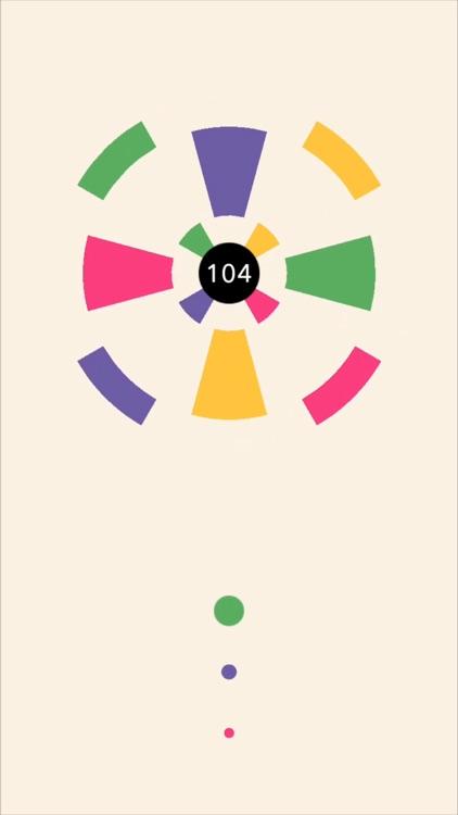 Circle Smash: Black screenshot-4
