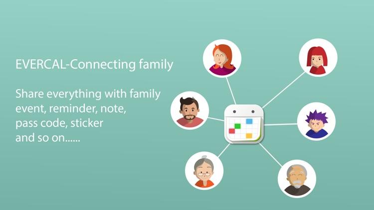 EverCal - Family Organizer