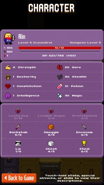 Crossword Dungeon screenshot-3