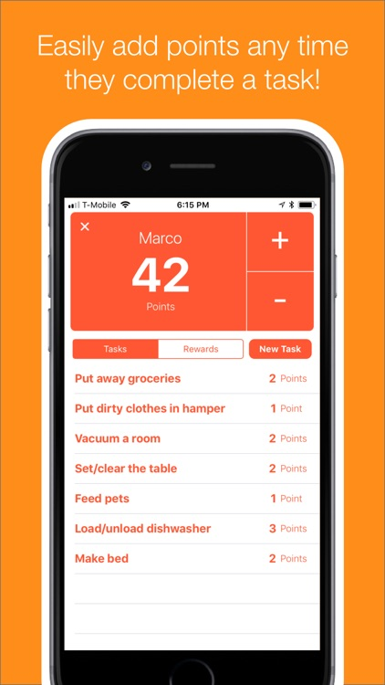 punti - chores tasks & rewards screenshot-1