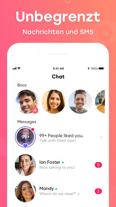 Herunterladen InMessage: Meet, Chat, Date für Pc