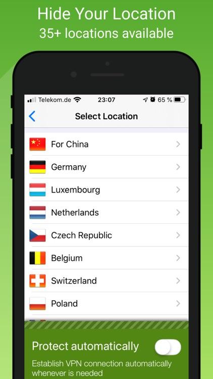 VPN Proxy by Seed4.Me VPN screenshot-4