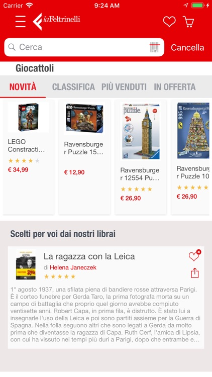 la Feltrinelli Mobile screenshot-2