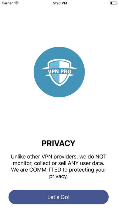 VPN Pro + Private Browser Screenshot
