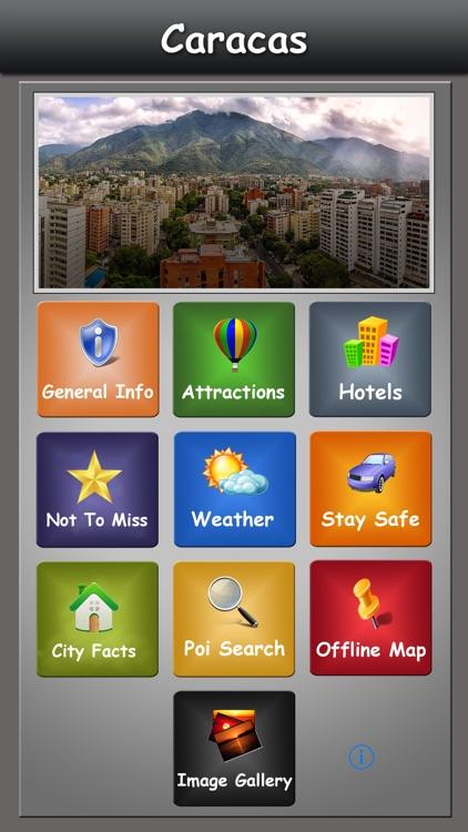 Caracas Offline Map Guide