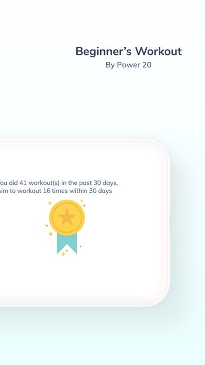 Beginner's Workout screenshot-6