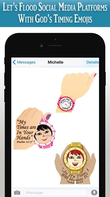 God's Timing Scripture Emojis screenshot-9