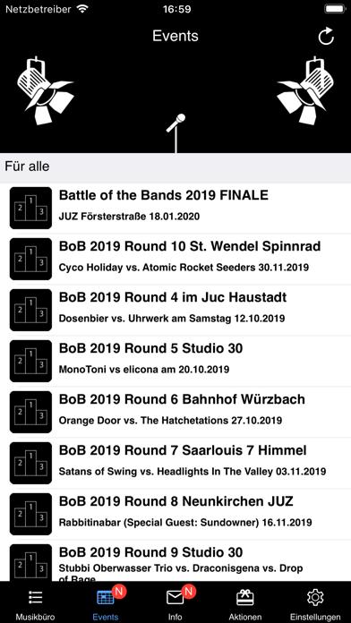 Screenshot #2 pour Musikbüro Saar