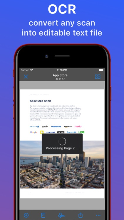 Zen Scanner App: Sign PDF, Doc screenshot-3
