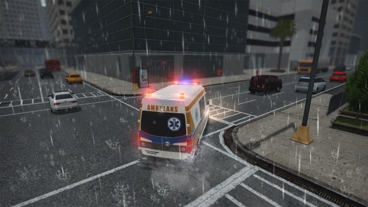 救护车紧急救护模拟:真实救援