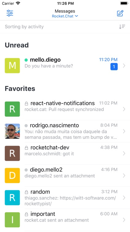 Rocket Chat Experimental by Rocket Chat Technologies Corp