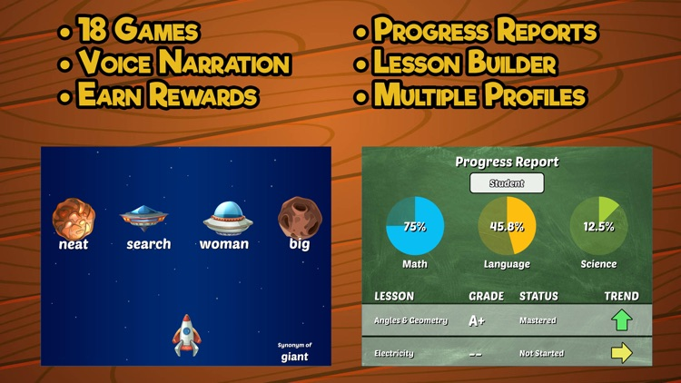 Fourth Grade Learning Games SE screenshot-4