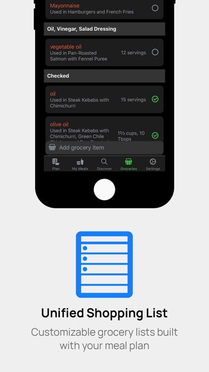 Carte - Easy Meal Plans screenshot-3
