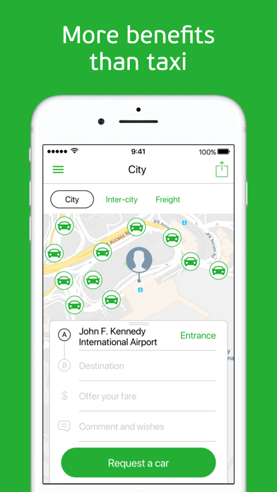 Screenshot for inDriver: Offer your fare in Switzerland App Store