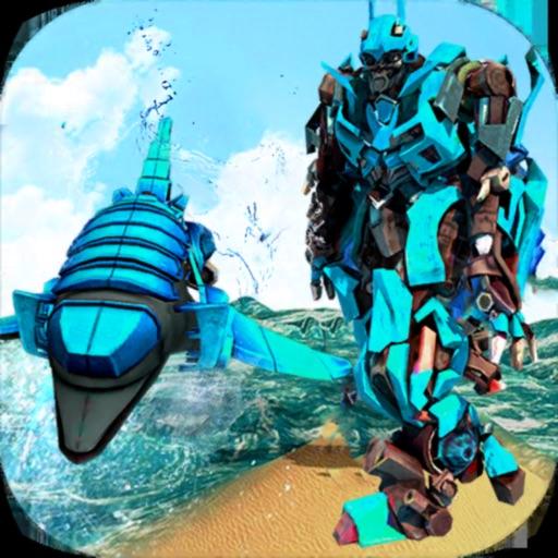 Dolphin Robots Transform City iOS App