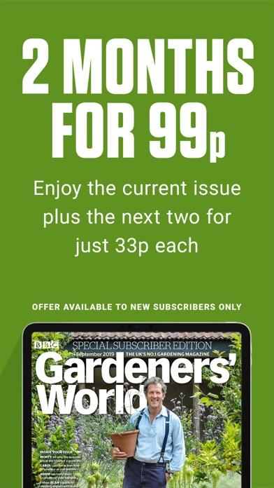 BBC Gardeners' World Magazine Screenshot