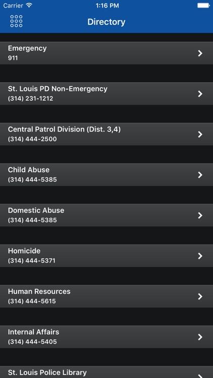 SLMPD Mobile screenshot-3