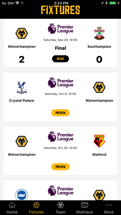 Wolves App screenshot three