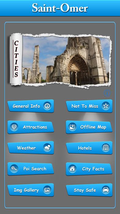 Saint Omer Offline Map Guide