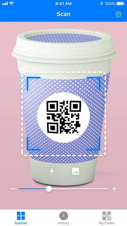 Barcode: QR code scanner screenshot-9