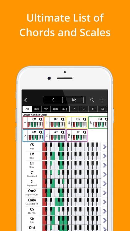 Piano Chords, Scales Companion screenshot-0