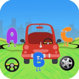 ABC Car Color Word Search Game