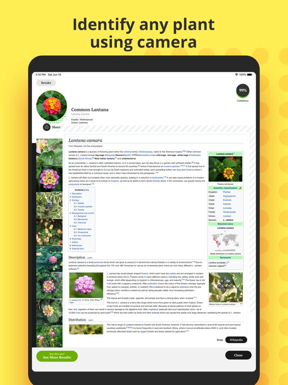 Plant Identification screenshot